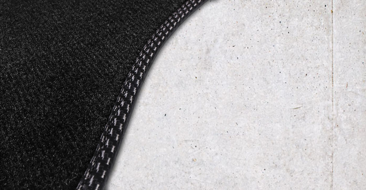 Obszycie lamówka dywaników